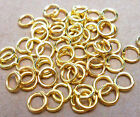 Silvergold Plated Open Jump Rings Connector Jewelry Findings 4 5 6 7 8 9 10mm