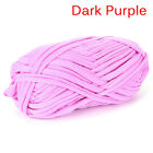 100g Hand Knitting Blanket Basket Rug Wool Yarn Diy Crochet Mat Elastic Cloth