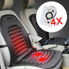 2 4 Seat Heated Carbon Fiber Universal Car Seat Heater Kit 2-dial 5-level Switch