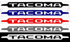 Toyota Tacoma Windshield Decal 4x4 Suv Truck Mud Original Front Grill Edition