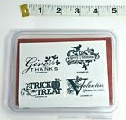 Stampin Up Sets Unmounted Unused Retired Wood Block You Pick One Set Group A1