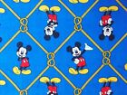 Mickey Mouse Fabric Oh Boy Framed In Nautical Rope By Camelot Fabrics Cotton