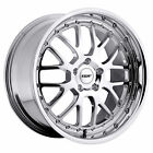 18x9.5 Tsw Valencia Chrome Wheels 5x120 20mm Set Of 4