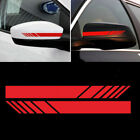 Amg Style Racing Sport Stripes Vinyl Decal Sticker For Mercedes Benz Side Mirror