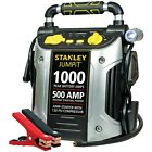 Battery Jump Starter Air Compressor Peak Portable Car Charger Booster 600 1000 A
