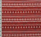 Red Christmas Sweater Christmas Campers Collection Cotton Quilting Fabric