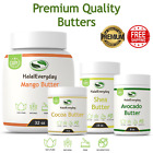 Organic Raw Butter - 100 Pure Raw Skin Face Body Hair Unrefined Premium Quality
