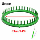 1pc Tool Round Circle Knitting Loom Knifty Knitter Knit Weave Abs Plastic Hat