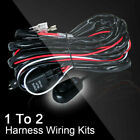 Wiring Harness Kit Heavy Duty 12v 24v 40amp Fuse Relay Switch For Led Light Bar