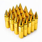 20pcs Cap Spiked Aluminum Extended Tuner M12 X 1.5mm 60mm Wheel Lug Nuts Rims