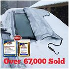 Snowoff Extra Large Windshield Snow Ice Cover - Fit Any Car Suv Truck Van - Win
