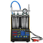 Autool Car Motorcycle 46 Cylinder Fuel Injector Tester Cleaner Cleaning Machine