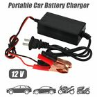1-4 Pcs 12v Car Battery Maintainer Charger Tender Auto Trickle Boat Motorcycle