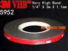 3m Vhb 5952 Double-sided Acrylic Foam Adhesive Tape Automotive 3 Meters Long