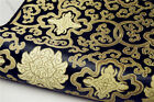 Chinese Retro Rich Symbol Traditional Silk Brocade Pillow Cushion Cover Fabric