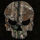 Camouflage Skull Sticker - Camo Skull Decal - Choose Pattern Size