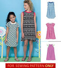 Sewing Pattern Make Girls Raglan Sleeve Dress Easy To Do Size 36 Or 714