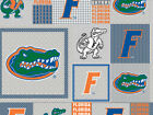 University Of Florida Fleece Fabric-florida Gators Fleece-all Patterns