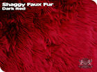 Faux Fur Shaggy Long Pile Hair Fabric Sold By The Yard