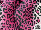 Leopard Velboa Faux Fur Animal Print Fabric 60 W Sold By The Yard