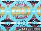 Polar Fleece Printed Fabric Aztec 60 Wide Sold By The Yard