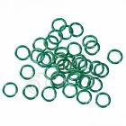 Mint Green Jump Rings 6mm - 50100200 Wholesale Findings For Jewelry Making