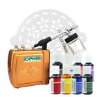 Ophir Complete Cake Decorating Airbrush Kit 8x 0.75oz Edible Pigment 15x Stencil