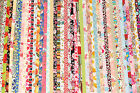 10 Pcs 2.5x44 Jelly Roll Strips Cotton Fabric Flower Mixed Quilt Patchwork R2