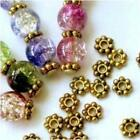 Lots 1000x Gold Plated Daisy Flower Spacer Beads Jewellery Findings 46mm