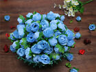 50x 100x 500x Roses Artificial Silk Flower Heads Wholesale Lots Wedding Decor
