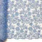 Camellia Guipure Venice French Lace Embroidery Fabric 52 Wide Many Colors