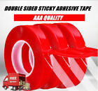 25m Clear Film 3m Transparent Double Sided Sticky Adhesive Tape Car Repair