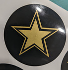 Rockstar Style Wheel Center Cap 2.5 Overlay Decals Choose Ur Colors 5 In A Set