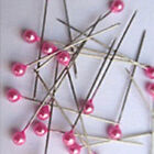 800pcs Dressmaking Sewing Pin Straight Pins Round Head Color Pearl Corsage Best
