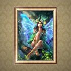 Angel Diy 5d Diamond Painting Embroidery Fairy Cross Stitch Kit Home Decor Elf