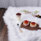 1pc White Fur Fabric Long Pile Fur Costumes Photographic Backdrops Upholstery