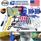 Us Pdr Tools Dent Puller Lifter Paintless Repair Hail Removal Hammer Glue Kits
