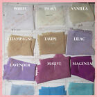 2 Yards Solid Chiffon Fabric Polyester Dress Sheer 58 Wide All Colors