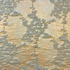 Angelonia Floral Jacquard Fabric Metallic 3d 57 For Crafts Garments Upholstery