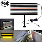 Us Paintless Dent Repair Pdr Tools Push Rods Hail Puller Lifter Hammer Led Light