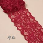 1 Yards Elastic Flower Stretch Lace Trim Ribbon Sewing Dress Skirt Handicrafts