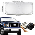 Extra Large Foldable Truck Suv Car Front Window Windshield Visor Sun Shade Cover