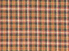 Plaid Homespun Fabric Primitive Sewing Fabric Cotton Rag Quilt Fabric