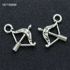 Lot Tibetan Silver Retro Gothic Charms Pendants Crafts Jewelry Bracelet Beads