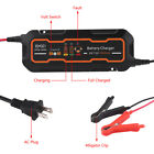 6v12v 5a Smart Car Battery Charger And Maintainerdesulfator Waterproof 5000ma