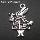 100 Different Types Tibetan Silver Retro Style Charm Pendants Craft Jewellery