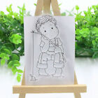 Boy Girl Transparent Silicone Clear Stamps Cutting Dies Diy Scrapbook Embossing