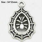 100 Kind Tibetan Silver Retro Style Charm Pendants Alloy Connectors Spacer Beads
