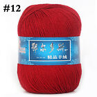 Worsted Cashmere Woven Wool Yarn Knitted Sweater Scarf Line Soft Crochet Thread
