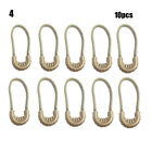 Outdoor Zip Zipper Pulls Cord Rope Pullers For Outdoor Travel Clothing Backpack